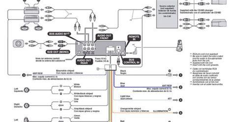 pioneer mvh 291bt wiring diagram mvh 291bt pioneer