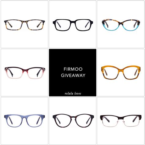Glasses Giveaway - firmoo glasses giveaway rolala loves