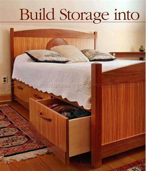 cabinet bed woodworking plans