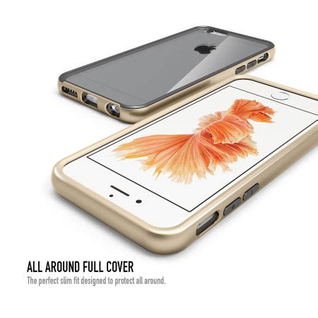 One Y1884 Iphone 6 6s obliq mcb one series iphone 6 6s bumper gold