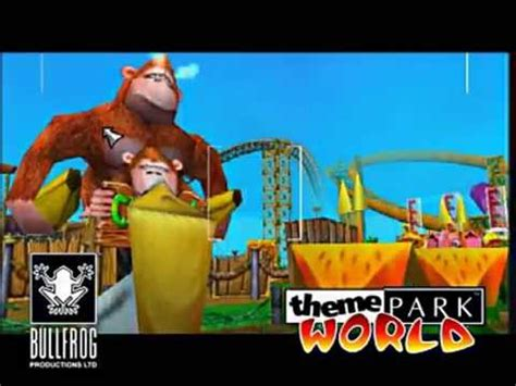 theme park world ps2 sim theme park theme park world official trailer eur