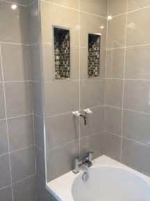 Before the internal recesses were tiled with mosaic tiles