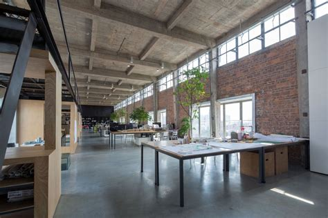 workshop office layout silo in a 1960 s beer factory turned into a workshop