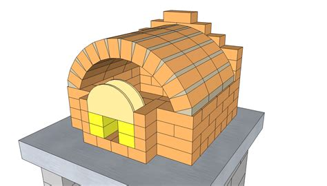 Simple Outdoor Pizza Oven Plans My Journey Backyard Brick Oven Plans