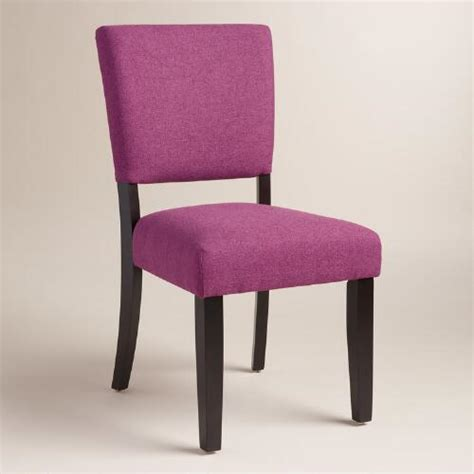 Purple Dining Chairs Purple Mady Dining Chairs Set Of 2 World Market