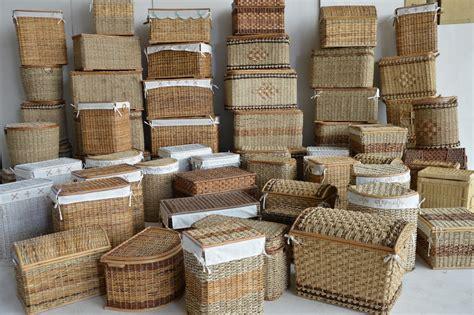 cesta vimini 26 0037 2 cesto portabiancheria in rattan giunco cesto