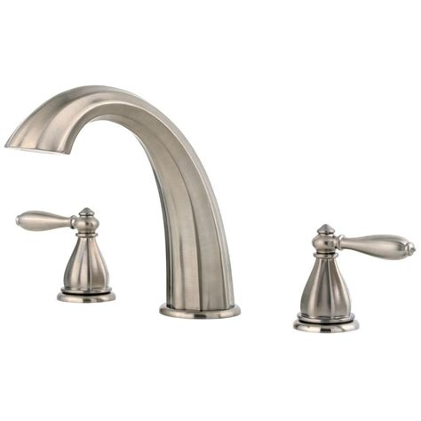 pfister single handle tub and shower faucet trim