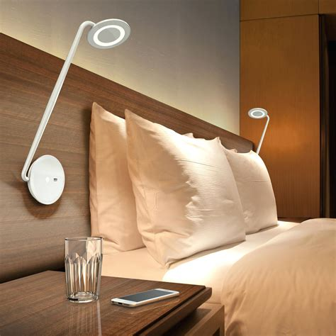 Wall Mounted Led Reading Light Bedroom Nightstand Ls Reading Lights Bedroom