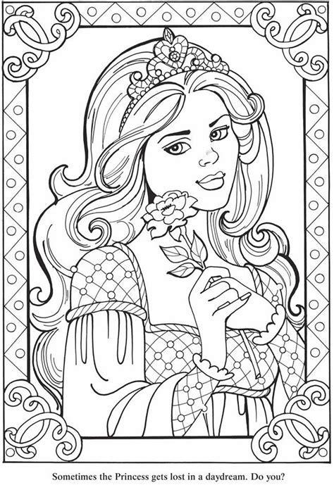 De 25 Bsta Iderna Om Princess Coloring Pages