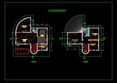 desain rumah autocad desain rumah minimalis 2 lantai autocad gambar foto