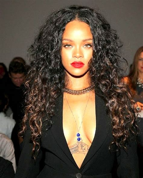 Rihanna Curly Hairstyles by Top 5 Curly Hairstyles Glam Radar