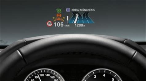 bmw's full color head up display could replace the