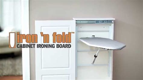 ironing board wall cabinet iron n fold cabinet ironing board youtube