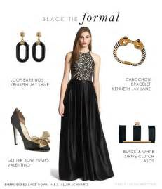 Black Tie Wedding Attire