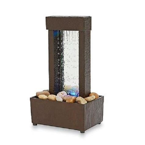 mini waterfall for desk indoor tabletop water fountain mini desk waterfall