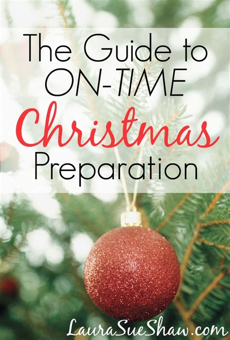 preparation of christmas pdf the guide to on time preparation sue shaw