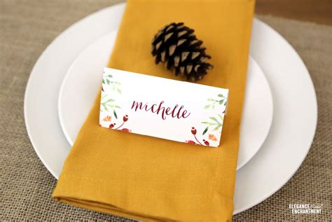 decorating printable thanksgiving place cards printable thanksgiving decorations for a homespun holiday