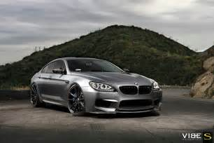bmw m6 gran coupe on 22 quot savini bm12 matte black wheels