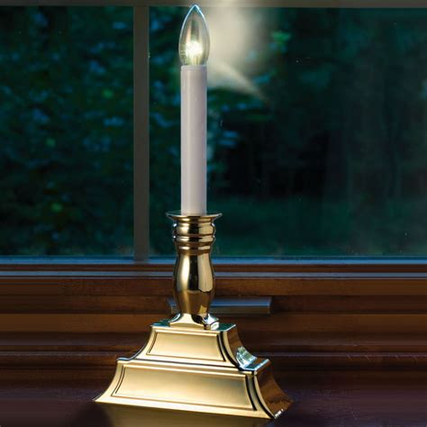 the dual intensity window candles hammacher schlemmer