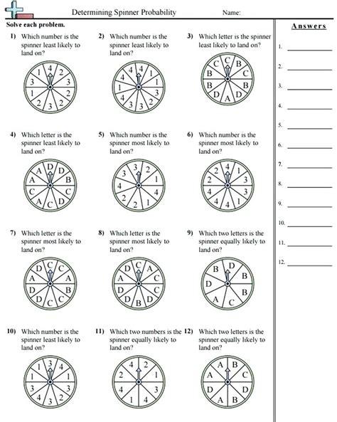 Probability Worksheets High School