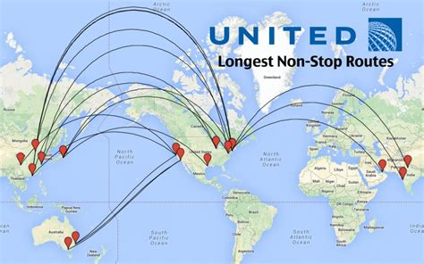 Top 14 Longest United Flights In The World Airliners Net | top 14 longest united airlines flights in the world