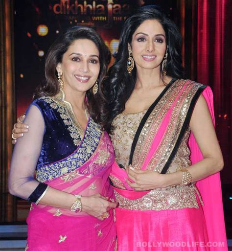 sridevi or madhuri sridevi and madhuri dixit were signed for a multi starrer