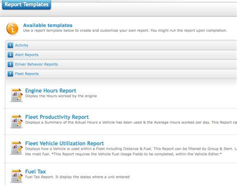 fleet management report template fleet management report template how to setup a mileage by state report template milo