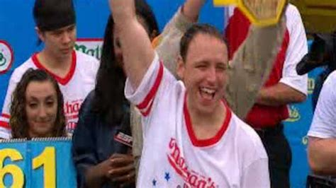 Joey Chestnut Does It Again by Joey Chestnut Wins Again In 4th Of July