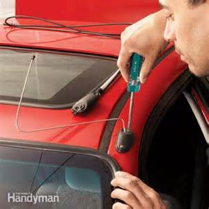 How To Fix Electric Car Aerial How To Replace A Car Antenna The Family Handyman
