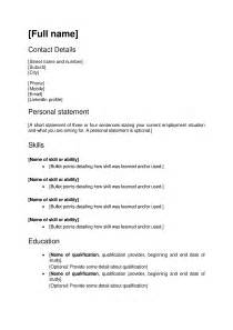 cover letter for a cv cv and cover letter templates