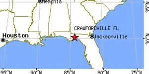 crawfordville florida fl population data races