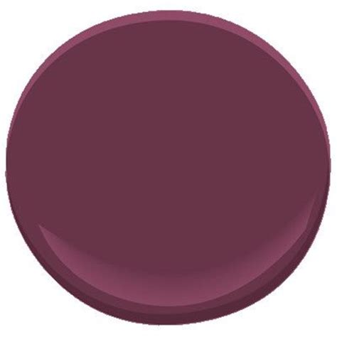 benjamin burgundy paint colors