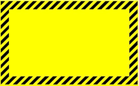 caution border clipart best