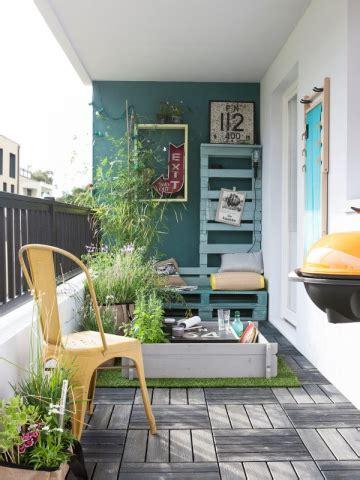 Comment Décorer Sa Chambre 84 by Un Mur Bleu Vert Pour Une Terrasse 224 Vivre Maisonapart