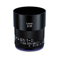 zeiss loxia 35mm f/2 sony e mount lens bolt productions
