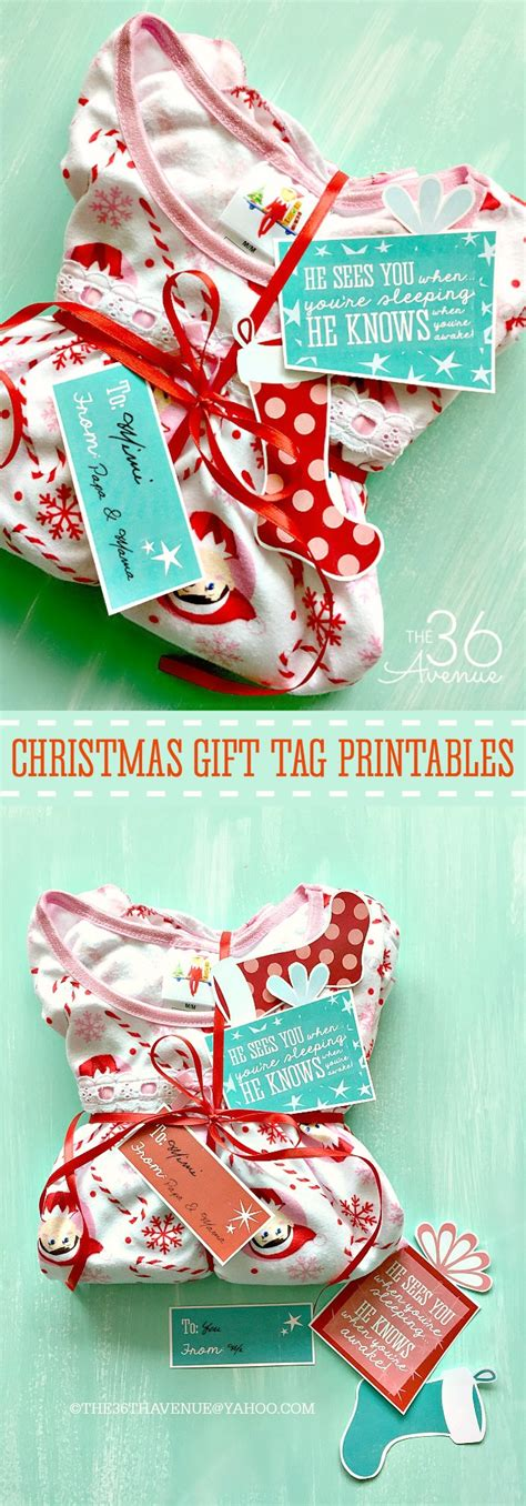 christmas gift that starts with i gift idea and printable the 36th avenue