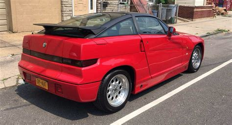 Alfa Romeo Sz For Sale by There S A 1990 Alfa Romeo Sz For Sale In New York Carscoops