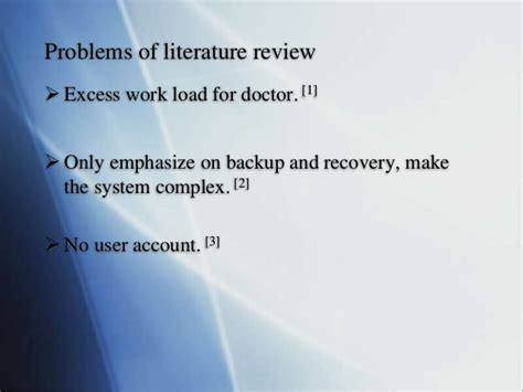 Review Related Literature Database Management System by Literature Review Database Management