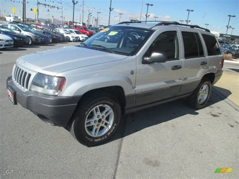2004 jeep grand silver bright silver metallic 2004 jeep grand laredo 4x4
