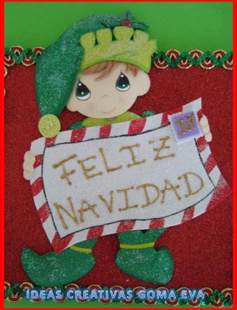imagenes navideñas en foami tarjetas navide 241 as en foami imagui