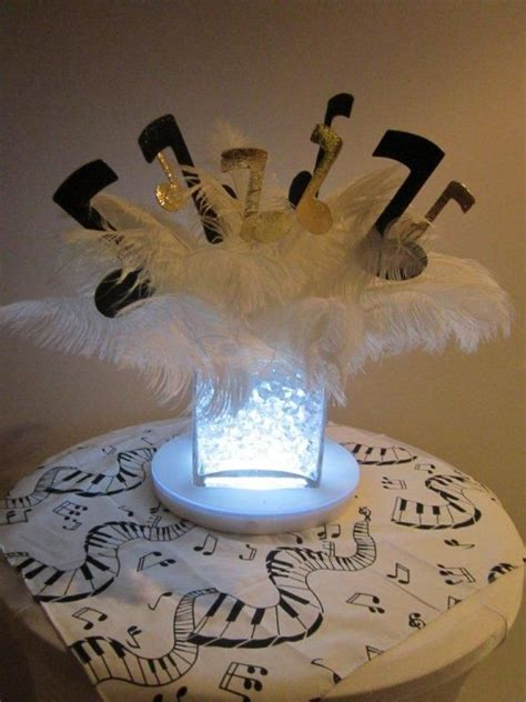themed music events 25 best ideas about music centerpieces on pinterest