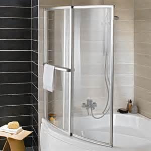 ecran de baignoire courbe ola salle de bains