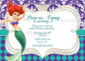 Mermaid Birthday Invitation Template by 40th Birthday Ideas Mermaid Birthday Invitation Templates
