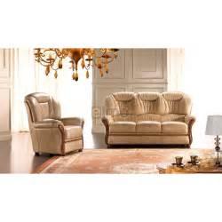 canap 233 bois et cuir disponible en fauteuil 2 ou 3 places
