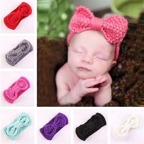 knit crochet turban headband button headbands aliexpress buy 1 x baby crochet headband