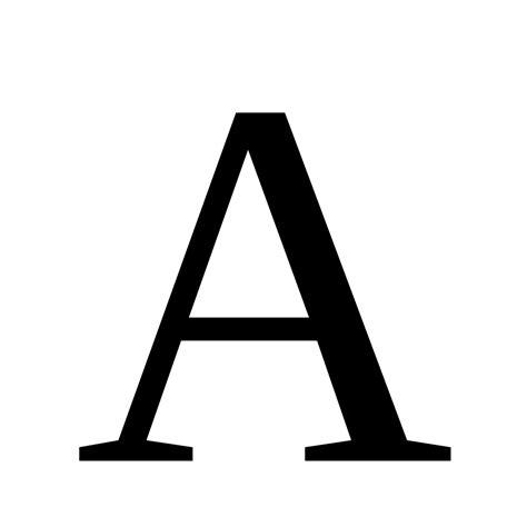 Letter Wiki Archivo Letter A Svg La Enciclopedia Libre