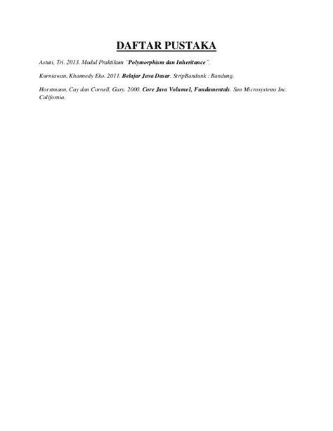 Seri Belajar Mandiri Essential Grammar java netbeans polymorphism object oriented programming