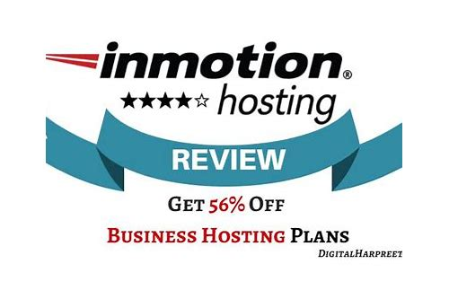 inmotion hosting deals