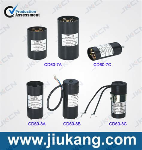capacitor in motor starter motor starter capacitor cd60 series with ce sh capacitor buy motor start capacitor motor