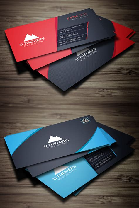 26 new professional business card psd templates design